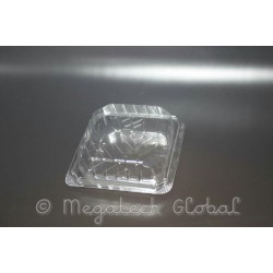 APET Clear Square Tray - Brownie/Donuts (BX-148L)