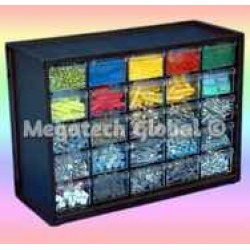25-Drawer Parts Cabinet (M-25D)