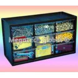 9-Drawer Parts Cabinet (M-9DII)