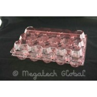 APET Clear Egg Tray - 15pcs