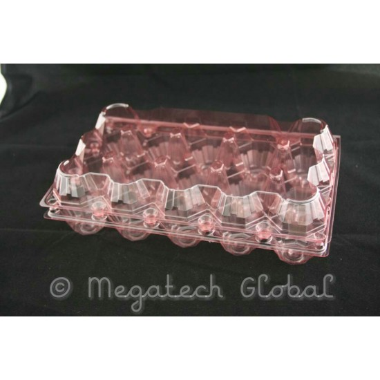APET Clear Egg Tray - 15pcs