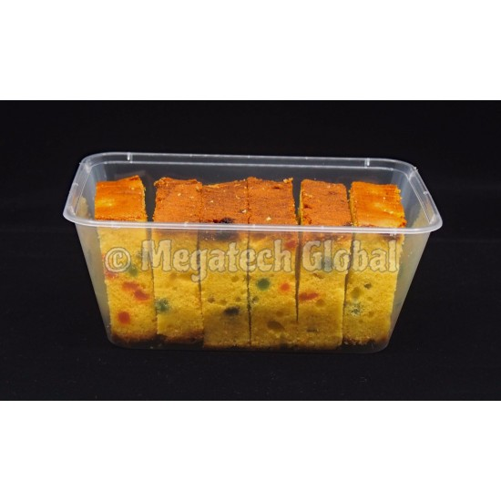 Food Container - 1000ml (RECT)