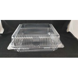 OPS Clear Bakery Tray w/Hinged Lid (OPS-L200)