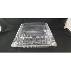 OPS Clear Bakery Tray w/Hinged Lid (OPS-L300)