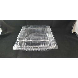 OPS Clear Bakery Tray w/Hinged Lid (OPS-L400)