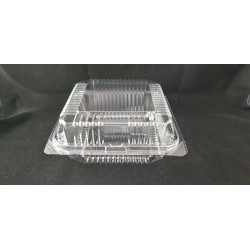 OPS Clear Bakery Tray w/Hinged Lid (OPS-L500)