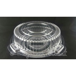 OPS Clear 4-Croissant Box (OPS-C51)