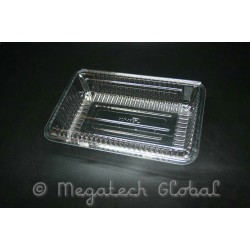 OPS Clear Tray w/Hinged Lid (OPS-H1B)