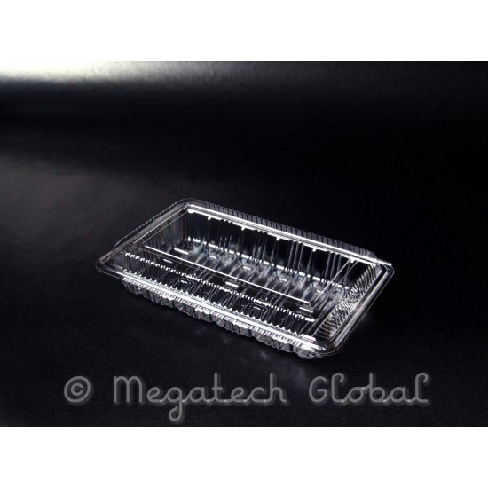 OPS Clear Tray w/Hinged Lid (OPS-H2)