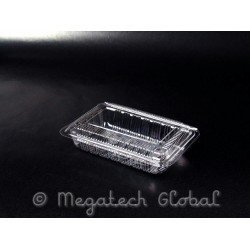 OPS Clear Tray w/Hinged Lid (OPS-OP1H)