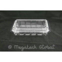 OPS Clear Tray w/Hinged Lid (OPS-OP6H)