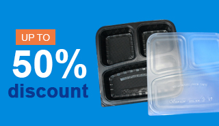 All type of Take-away packaging available here